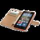 CELLY Wally pouzdro pro Microsft Lumia 532, PU kůže, černá
