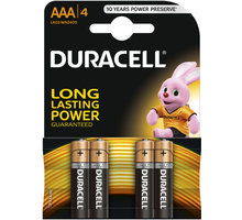 Duracell Basic AAA, 4ks - 10PP100005
