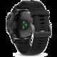 GARMIN Fenix5 gray Optic, černý pásek
