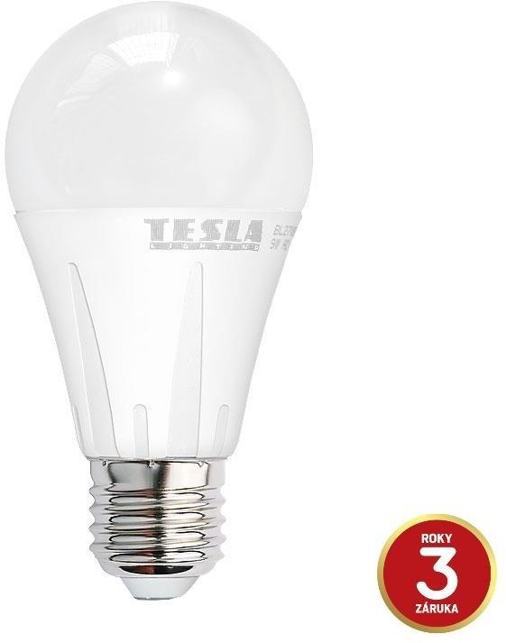 Tesla E27/230V, 12W, teplá bílá, 1055lm, 2ks + 1ks zdarma