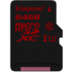 Kingston Micro SDXC 64GB Class 10 UHS-I U3