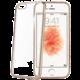 CELLY Laser pouzdro pro Apple iPhone SE, zlaté s kovovým efektem