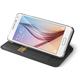CELLY Buddy pouzdro pro Samsung Galaxy S6, PU kůže, černá