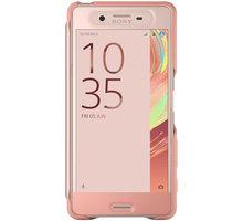 Sony SCR56 Style Cover Touch Xperia XP, růžová/zlatá - 1301-7698