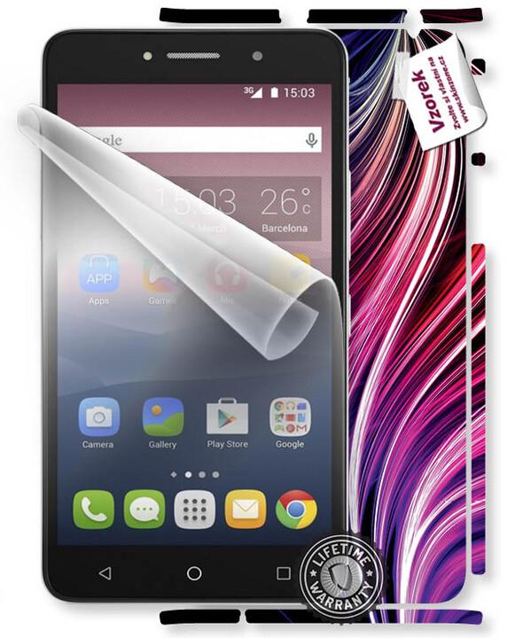ScreenShield fólie na displej pro ALCATEL One Touch 8050D Pixi 4 + skin voucher