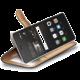 CELLY Wally Pouzdro typu kniha pro Huawei P9 Lite, PU kůže, černé