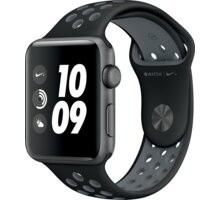 Apple Watch Nike + 42mm Space Grey Aluminium Case with Black/Cool Grey Nike Sport Band - MNYY2CN/A