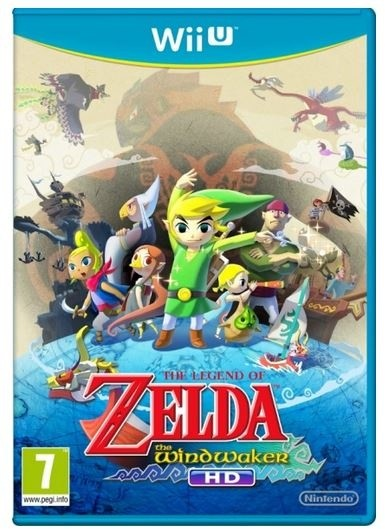 The Legend of Zelda Wind Waker HD (WiiU)