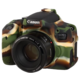Easy Cover silikonový obal pro Canon 750D, camouflage