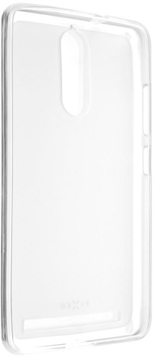 FIXED gelové pouzdro pro Lenovo Vibe K5 Note, bezbarvá