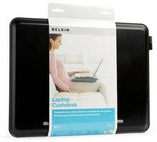 Belkin podložka pod notebook CushDesk, černá/šedá - F8N143eaKSG