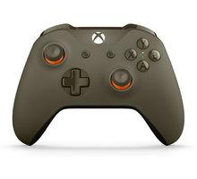Microsoft Xbox ONE S Gamepad, bezdrátový, vojenská zelená (Xbox ONE S) - WL3-00036