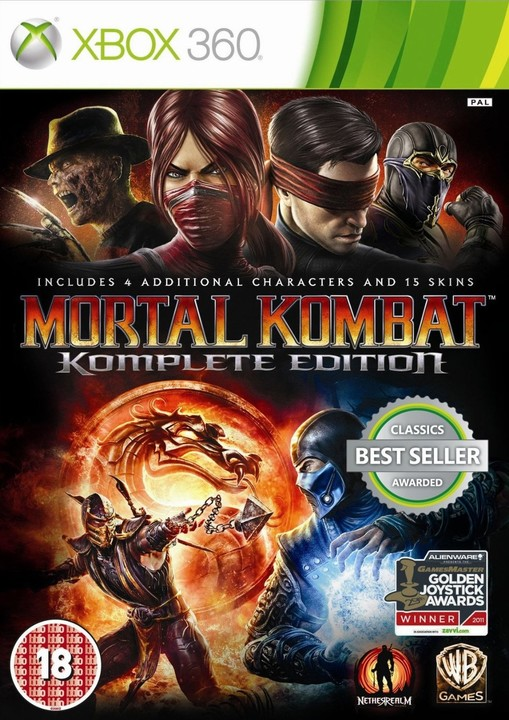 Mortal Kombat 9: Komplete Edition (Xbox 360)