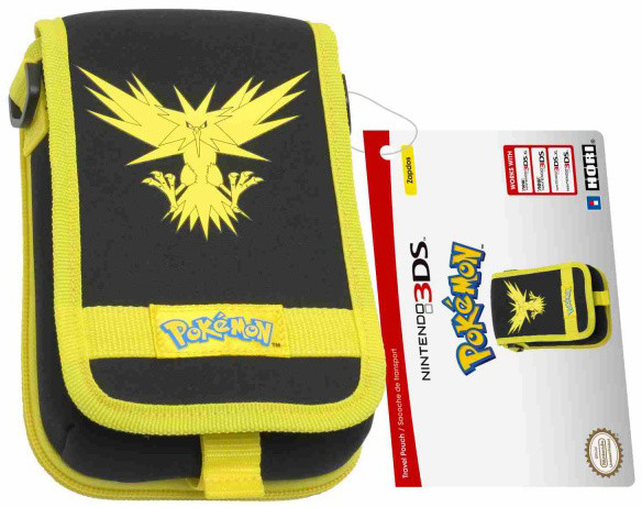 Hori New 3DS XL Pouch, Pokémon Go Yellow