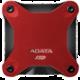 ADATA SD600 - 256GB, červený