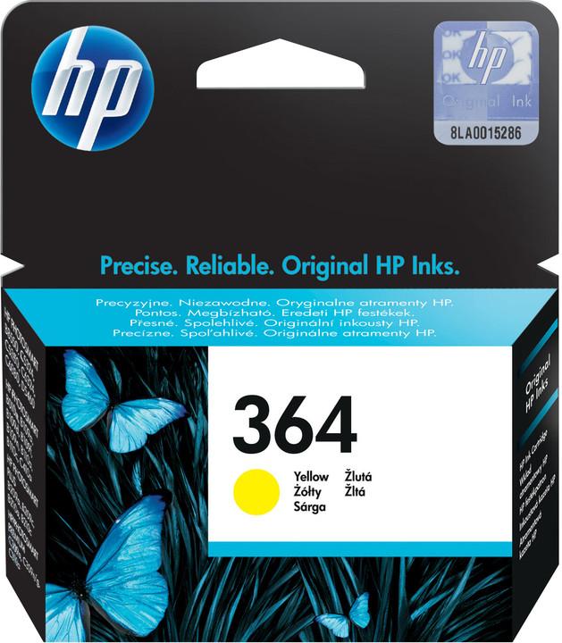 HP CB320EE, č. 364, žlutá
