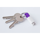 inCharge MicroUSB Purple, 8cm