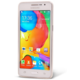 EPICO pružný plastový kryt pro Samsung Galaxy Grand Prime RONNY GLOSS - bílý transparentní