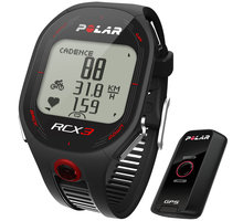 Polar RCX3 Black G5 (MULTI), vč. interface DataLink - 322517