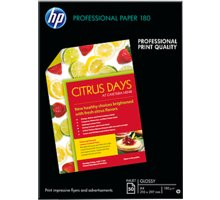 HP Professional Glossy Inkjet Paper, A4, 180 g/m2, 50 listů - C6818A