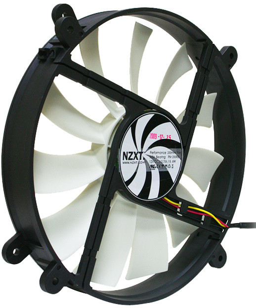 NZXT FN-200RB, 200mm