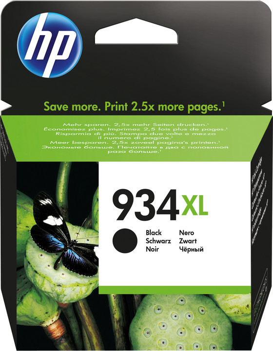 HP C2P23AE náplň č.934XL, černá