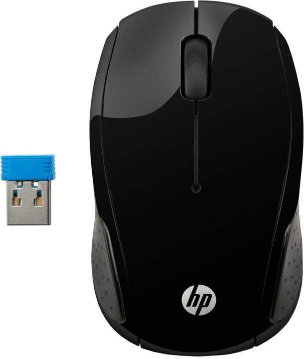HP 200, černá
