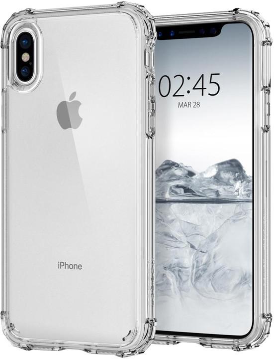 Spigen Crystal Shell iPhone X, clear crystal