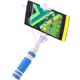 Accent mini selfie tyč, modrá