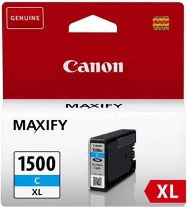 Canon PGI-1500XL C, azurová