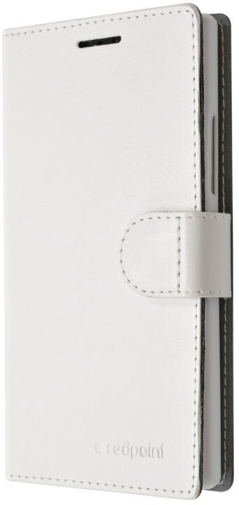 FIXED flipové pouzdro pro Honor 4C, bílá