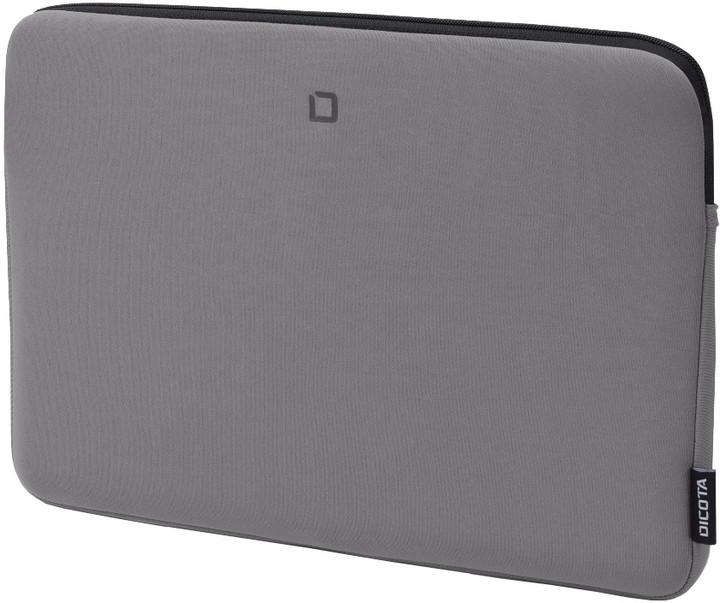 """DICOTA Skin BASE - Pouzdro na notebook 15.6"""" - šedá"""
