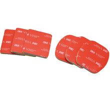 Apei Outdoor 3M sticker Set (3pcs for flat, 3pcs for arc mount) for GoPro 4/3+/3/2/1 - OD014