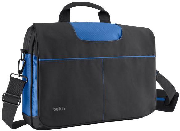 "Belkin Messenger Bag 13"", černá/modrá"