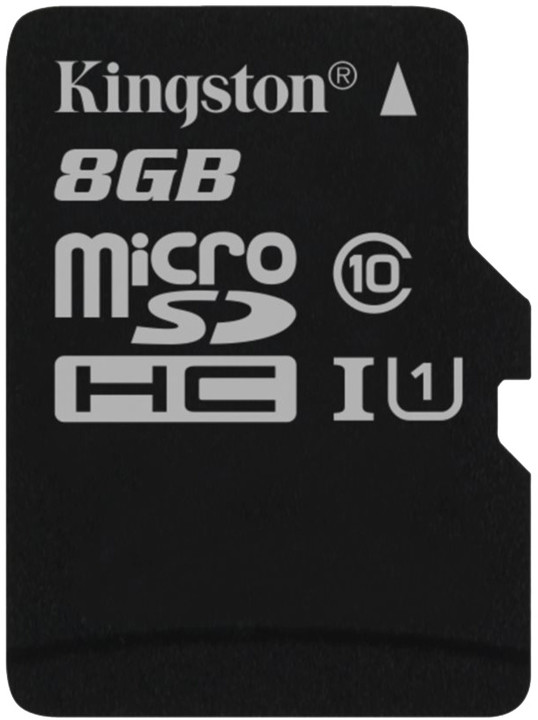 Kingston Micro SDHC 8GB Class 10 UHS-I