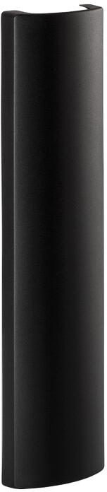 Meliconi 480519 Slim Style Wire Couver Double Prodlužovací kryt na vedení kabelů, černá