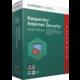 Kaspersky Internet Security multi-device 2017 CZ, 1 zařízení, 1 rok, obnovení licence