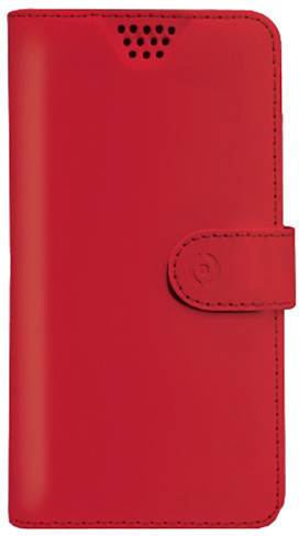 """CELLY Wally Unica pouzdro, velikost M 3,5"""" - 4"""", červená"""