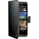 CELLY Wally pouzdro pro HTC Desire 620G, PU kůže, černá