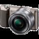 Sony Alpha 5100L, 16-50mm, hnědá  + Přenosný zdroj Sony CP-ELS v ceně 500 Kč