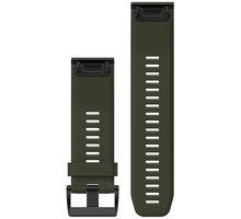 GARMIN náhradní řemínek pro Fenix 5X a Fenix 3 QuickFit™ 26, zelený - 010-12517-03