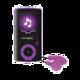 Hyundai MPC 883 FM, 16GB, černá-fialová