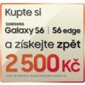 Kupte si vlajkovou loď Samsung Galaxy S6 nebo S6 Edge a získejte až 2500 Kč zpět