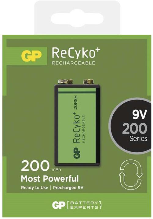 GP 9V ReCyko+ 200 series, nabíjecí