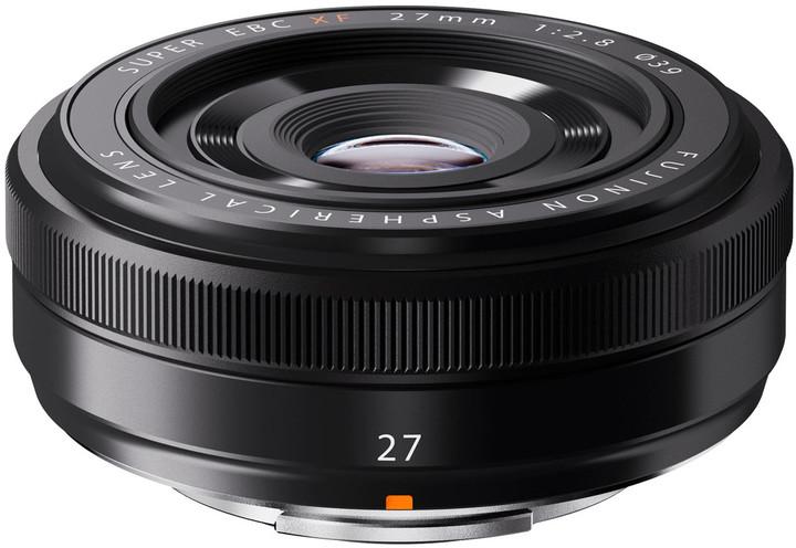 Fujinon objektiv XF27mm f/2.8