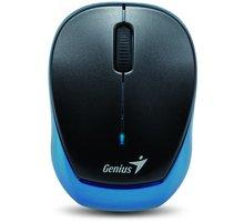 Genius Micro Traveler 9000R V2, bezdrátová, černá/modrá - 31030111100