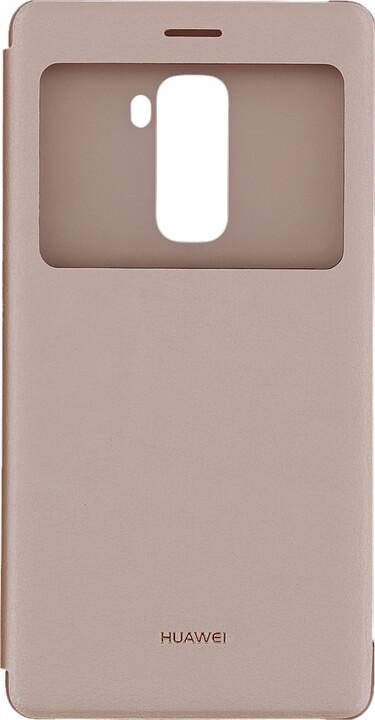 Huawei Original S-View Pouzdro Pink pro Mate S (EU Blister)