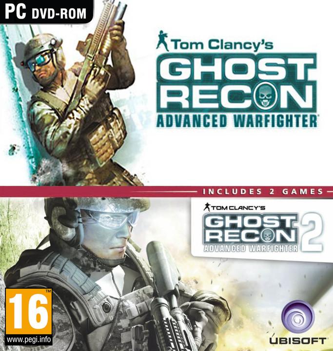 Tom Clancys Ghost Recon Advanced Warfighter 1 + 2 - Speciální kolekce - PC