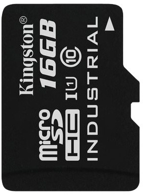 Kingston Industrial Micro SDHC 16GB Class 10 UHS-I