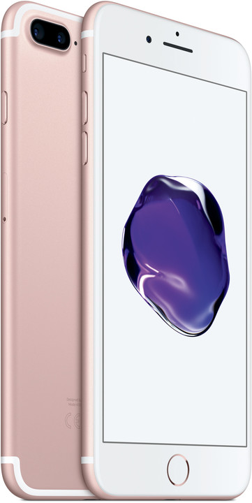 Apple iPhone 7 Plus, 32GB, růžová/zlatá